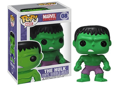 POP, Figura de Vinilo Coleccionable, Marvel, The Hulk, Nº08