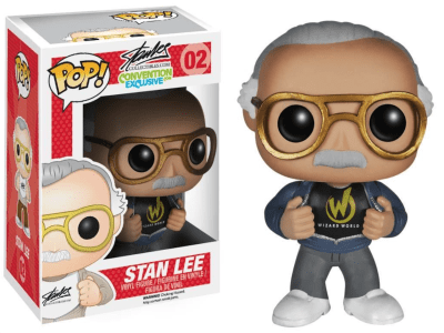 POP, Figura de Vinilo Coleccionable, Stan Lee, Stan Lee, Nº02