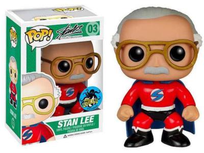 POP, Figura de Vinilo Coleccionable, Stan Lee, Stan Lee, Nº03