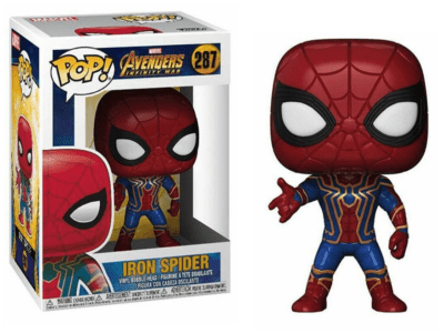 POP, Figura de Vinilo Coleccionable, Marvel, Iron Spider, Nº287