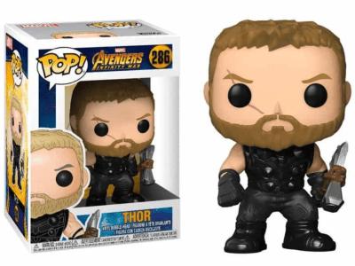 POP, Figura de Vinilo Coleccionable, Marvel, Thor, Nº286