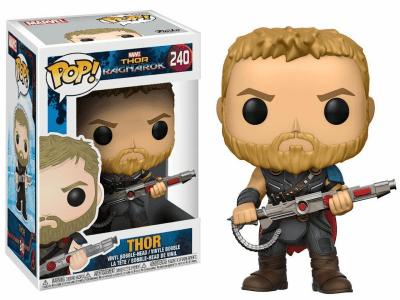 POP, Figura de Vinilo Coleccionable, Marvel, Thor, Nº240