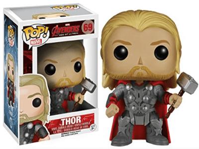 POP, Figura de Vinilo Coleccionable, Marvel, Thor, Nº69