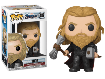 POP, Figura de Vinilo Coleccionable, Marvel, Thor, 482