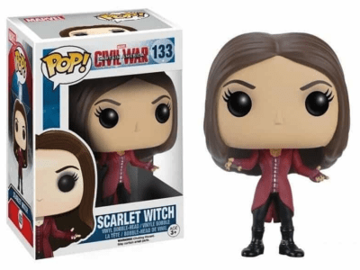 POP, Figura de Vinilo Coleccionable, Marvel, Scarlet Witch, Nº133