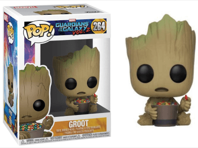 POP, Figura de Vinilo Coleccionable, Marvel, Groot, Nº264