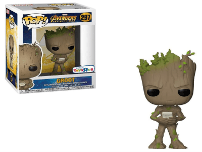POP, Figura de Vinilo Coleccionable, Marvel, Groot, Nº297