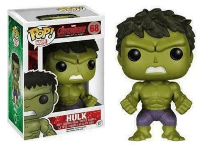 POP, Figura de Vinilo Coleccionable, Marvel, Hulk, Nº68
