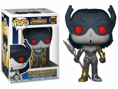 POP, Figura de Vinilo Coleccionable, Marvel, Proxima Midnight, Nº292