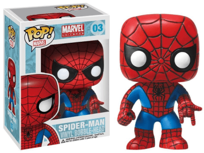POP, Figura de Vinilo Coleccionable, Marvel, Spider-Man, Nº03