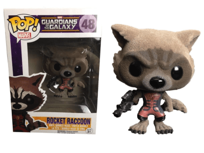 POP, Figura de Vinilo Coleccionable, Marvel, Rocket Raccoon, Nº48