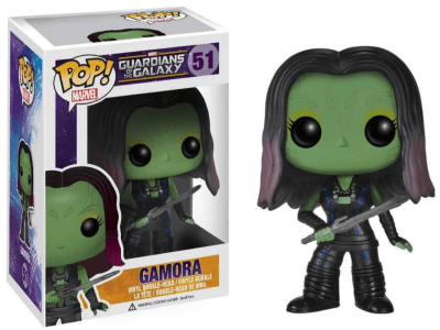 POP, Figura de Vinilo Coleccionable, Marvel, Gamora, Nº51