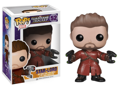 POP, Figura de Vinilo Coleccionable, Marvel, Star-Lord, Nº52