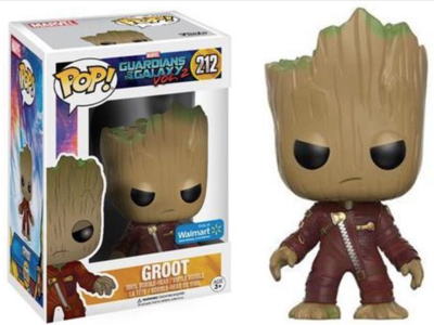 POP, Figura de Vinilo Coleccionable, Marvel, Groot, Nº212