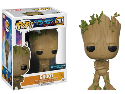 POP, Figura de Vinilo Coleccionable, Marvel, Groot, Nº207