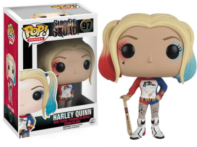POP, Figura de Vinilo Coleccionable, Super Heroes DC, Harley Quinn, Nº97
