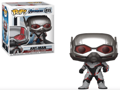 POP, Figura de Vinilo Coleccionable, Marvel, Ant-Man, Nº455
