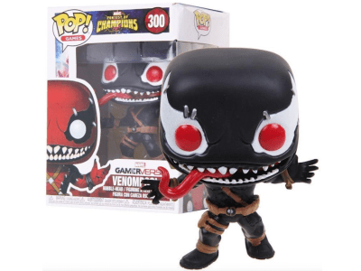 POP, Figura de Vinilo Coleccionable, Marvel, Venompool (Black), Nº300