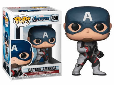 POP, Figura de Vinilo Coleccionable, Marvel, Captain America, Nº450
