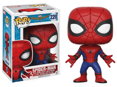 POP, Figura de Vinilo Coleccionable, Marvel, Spider-Man, Nº220