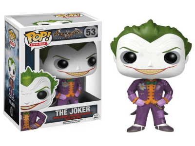 POP, Figura de Vinilo Coleccionable, Super Heroes DC, The Joker, Nº53