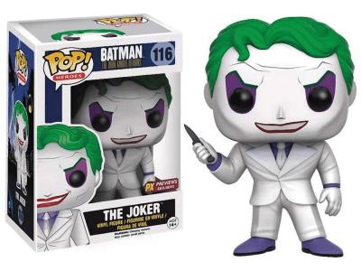 POP, Figura de Vinilo Coleccionable, Super Heroes DC, The Joker, Nº116