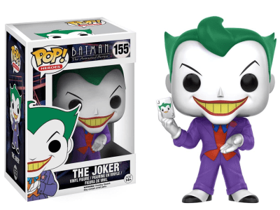 POP, Figura de Vinilo Coleccionable, Super Heroes DC, The Joker, Nº155