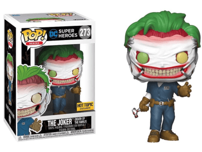 POP, Figura de Vinilo Coleccionable, Super Heroes DC, The Joker (Death of the Familiy), Nº273