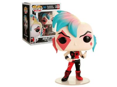 POP, Figura de Vinilo Coleccionable, Super Heroes DC, Harley Quinn, Nº233