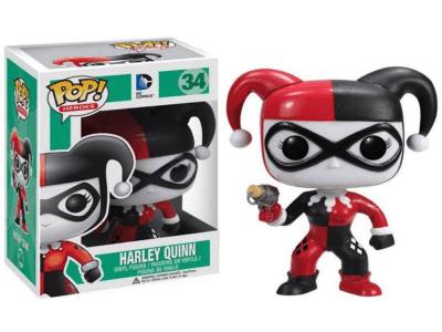 POP, Figura de Vinilo Coleccionable, Super Heroes DC, Harley Quinn, Nº34