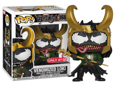 POP, Figura de Vinilo Coleccionable, Marvel, Venomized Loki, Nº368