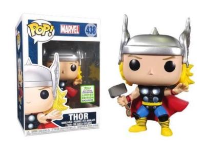 POP, Figura de Vinilo Coleccionable, Marvel, Thor, Nº438