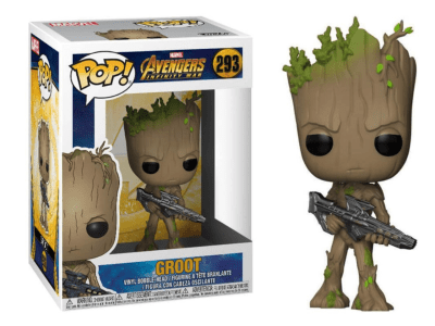 POP, Figura de Vinilo Coleccionable, Marvel, Groot, Nº293