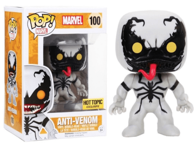 POP, Figura de Vinilo Coleccionable, Marvel, Anti-Venom, Nº100