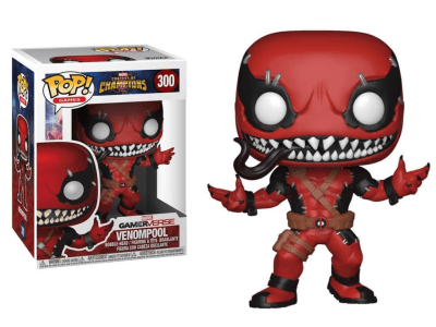 POP, Figura de Vinilo Coleccionable, Marvel, Venompool (Red), Nº300