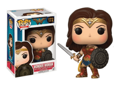 POP, Figura de Vinilo Coleccionable, Super Heroes DC, Wonder Woman, Nº172