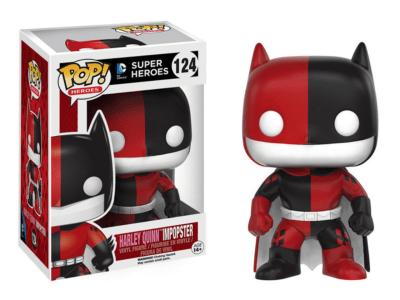 POP, Figura de Vinilo Coleccionable, Super Heroes DC, Harley Quinn Imposter, Nº124