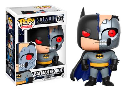 POP, Figura de Vinilo Coleccionable, Super Heroes DC, Batman (Robot), Nº193