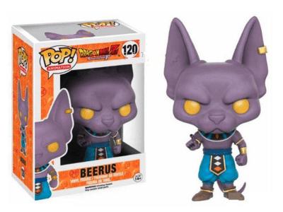 POP, Figura de Vinilo Coleccionable, Dragon Ball, Beerus, Nº120