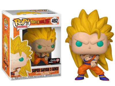 POP, Figura de Vinilo Coleccionable, Dragon Ball, Super Saiyan 3 Goku, Nº492