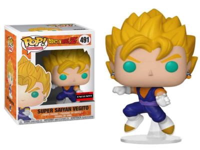 POP, Figura de Vinilo Coleccionable, Dragon Ball, Supere Saiyan Vegito, Nº491