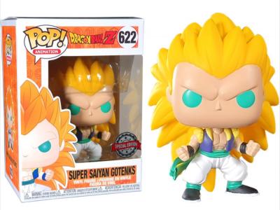POP, Figura de Vinilo Coleccionable, Dragon Ball, Super Saiyan Gotenks, Nº622