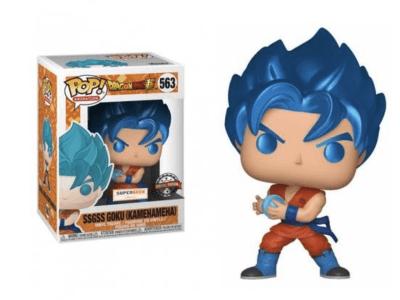 POP, Figura de Vinilo Coleccionable, Dragon Ball, ssgss Goku (Kamehameha), Nº563