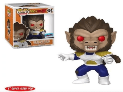 POP, Figura de Vinilo Coleccionable, Dragon Ball, Great Ape Vegeta (Big), Nº434