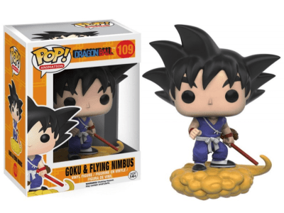 POP, Figura de Vinilo Coleccionable, Dragon Ball, Goku & Flying nimbus, Nº109