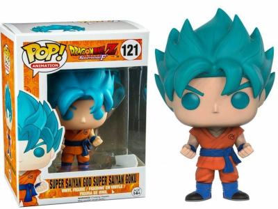 POP, Figura de Vinilo Coleccionable, Dragon Ball, Super Saiyan God / Super Saiyan Goku, Nº121