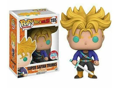 POP, Figura de Vinilo Coleccionable, Dragon Ball, Super Saiyan Trunks, Nº155