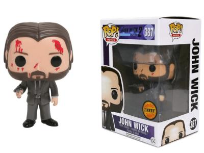 POP, Figura de Vinilo Coleccionable, John Wick 2, John Wick (Blood), Nº388