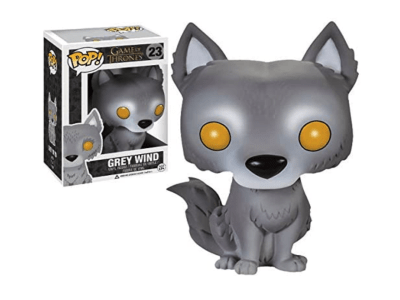 POP, Figura de Vinilo Coleccionable, Game of Thrones, Grey Wind, Nº23