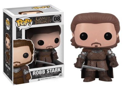 POP, Figura de Vinilo Coleccionable, Game of Thrones, Robb Stark, Nº08
